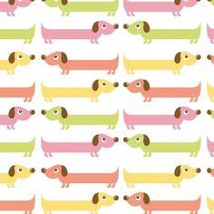 Sausage dog pattern