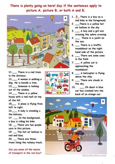English Lesson Plans, English Lessons, Learn English, English Class, Picture Comprehension, Reading Comprehension Worksheets, Reading Jobs, Reading Skills, Speech Language Pathology