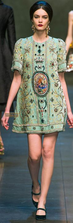 Dolce & Gabanna Fall Winter 2013-14 #details