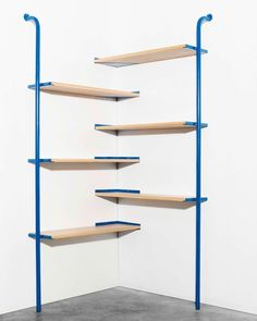 Ateliers J&J shelf exhibited at Salone Satellite 2015