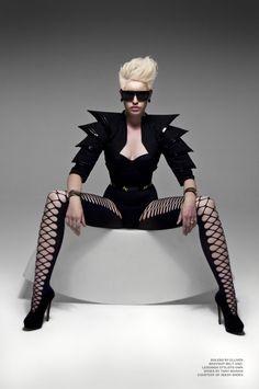 Avant Garde fashion love it!!!