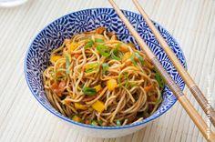 Soulfood pur: 20-Minuten-China-Nudeln   Wos zum Essn