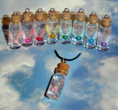 Legend of Zelda  Fairy in a Bottle Charm Necklace door YellerCrakka