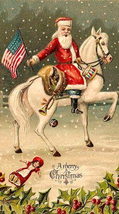 .American Christmas Greetinjg