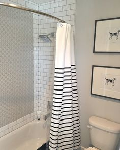 Cassity Kmetzsch On Instagram Loving The Simplicity Of This Darling Black And White Bathroom Would You Consider A Design Like One