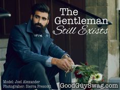 """He may be hidden from sight, but he's there, waiting for his moment. You might not recognize him behind the GQ logo, he smirks when he hears """"chivalry is dead,"""" he finds humor in the nice guys who have turned his title into a service position, and he ignores pick-up artists because he's no amateur. He watches kingdoms come and go, but he always remains, always relevant and powerfully humble."""