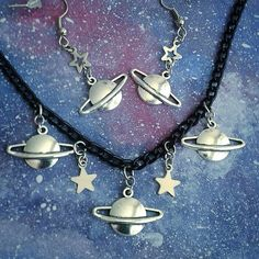 Jewellery for free spirits and dark hearts Inspired by space ☆ ☆