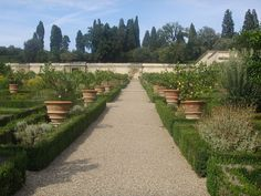 Villa di Castello and Boboli Gardens