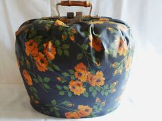Vintage 1950s Gibsons Teapot with Dutch Theemut Padded Carry Case Cosy Holland