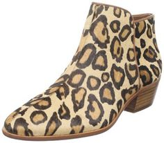 Leopard animal print Ankle boots for women 2013
