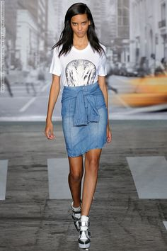 DKNY collection (Spring-Summer 2013, New York Fashion Week)