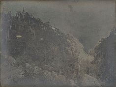 View of Crawford Notch, New Hampshire, Samuel Bemis, about 1840