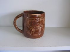 CROWN LYNN WHARETANA TANKARD | Trade Me Crown, Mugs, Tableware, Beautiful, Corona, Dinnerware, Tumblers, Tablewares, Mug