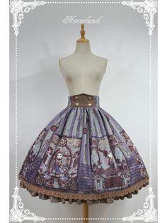 Steampunk Cat Skirt