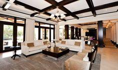 White Brick Mediterranean - mediterranean - living room - portland - Jessica Helgerson Interior Design