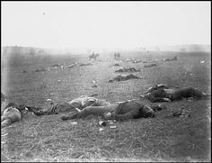 Mathew Brady - Federal Dead on the Field of Battle of First Day [1863]