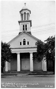 St. John's Episcopal Church, Wytheville, 1950s