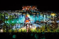 Festival of Lights, Lyon, France – in pictures