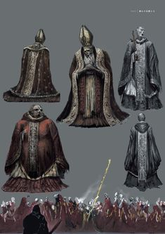 View an image titled 'Deacons of the Deep Art' in our Dark Souls III art gallery featuring official character designs, concept art, and promo pictures. Fantasy Concept Art, Fantasy Character Design, High Fantasy, Medieval Fantasy, Conquest Of Mythodea, Soul Saga, Bloodborne Art, Dark Souls Art, Deep Art