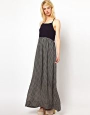 Orla Kiely Maxi Dress in Come Fly With Me Print Silk
