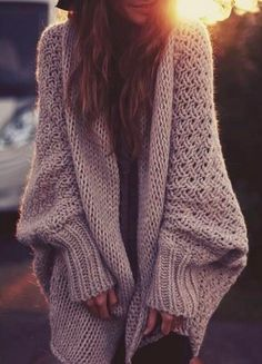 love the big sweater