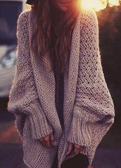 love the big sweater