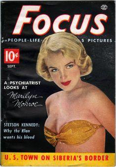 Focus, September 1952 (Marilyn Monroe)