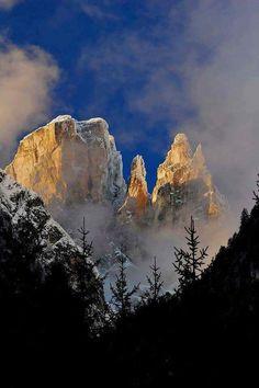 La prima neve sulla Croda dei Toni Foto di: Valentino Pais Auronzo (BL)