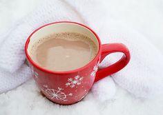 Creamy Raspberry Hot Chocolate - Cooking Classy