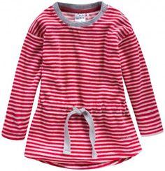 Welurowa sukienka w paski dla niemowlaka, kolekcja: Mini Endo paski