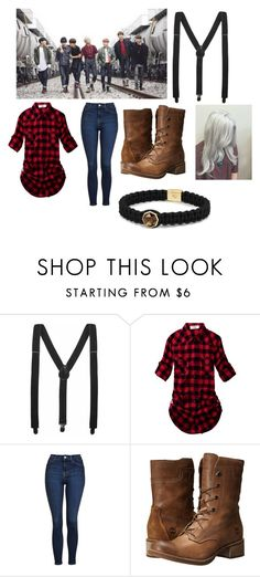 """""""Bts Rap-Monster(Namjoon)-Inspired """"I Need You"""" Outfit"""" by sassmaster42068 ❤ liked on Polyvore featuring Topshop, Timberland and David Yurman"""