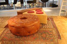 food furniture = comfort food