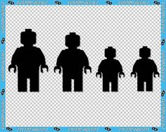 Up+to+5+tall+LEGO+Mini+Fig+Family++Vinyl+Decalz+by+CustomDecalz,+$10.00
