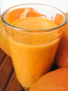 """""""Creamy"""" Pumpkin Smoothie #dairyfree"""