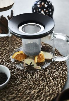 Use the natural flavours of orange and ginger to brew a warming spiced tea - find the full recipe at IKEA.com #IKEAIDEAS