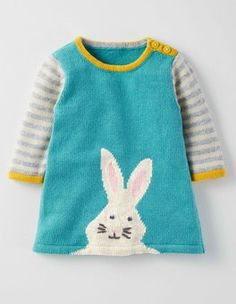 Fun Knitted Dress Boden