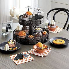 Halloween Cupcake Papers Set of 48 | Crate and Barrel
