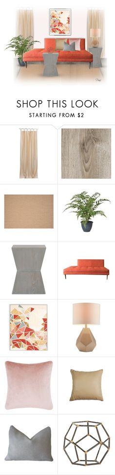 """Geometrics"" by diane-hansen ❤ liked on Polyvore featuring interior, interiors, interior design, home, home decor, interior decorating, PTM Images, Intelligent Design, Tom Dixon and Arteriors"