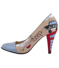 I London Louboutin Pumps, Christian Louboutin, Stepper, Painted Shoes, Hot, London, How To Wear, Fashion, Moda