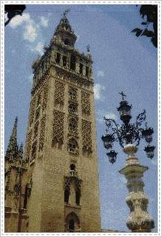 Patrón en PDF para Punto de Cruz de Giralda de Sevilla