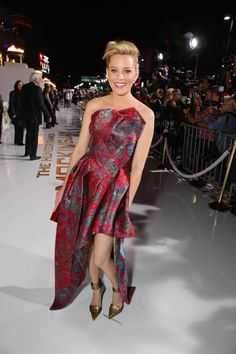 Elizabeth Banks - 'The Hunger Games: Mockingjay Part 1' film premiere in Los Angeles, California - November 17th, 2014