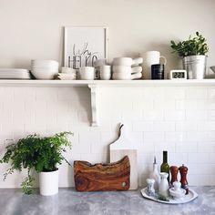 Kitchen styled by Kirsten Grove