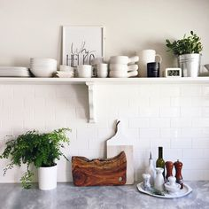 Kitchen styled by Kirsten Grove