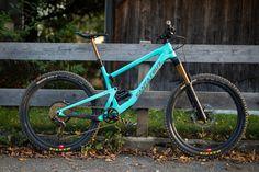Bike der Woche: Santa Cruz Bronson von IBC-User everywhere.local - MTB-News. Mtb, Santa Cruz Bronson, Mountain Biking, Sick, Trail, Bicycle, Architecture, Bicycles, Round Round