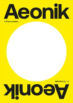 Aeonik is the first collaborative font family by Mark Bloom and Joe Leadbeater. Graphic Art, Graphic Design, Font Family, Web Design, Bloom, Yellow, Design Web, Website Designs