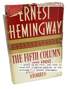Fifth column fifth column pinterest columns ernest hemingway fifth column by ernest hemingway first edition for sale at rarebooksfirst use coupon code gmpb014ygqqv fandeluxe Gallery
