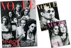 Até a Vogue Paris, uma das raras revistas a priorizar modelos em suas capas se rendeu às celebridades, mas desta vez, por uma causa justa. A edição de maio não vem com uma, mas seis: Meryl Streep, Julianne Moore, Gwyneth Paltrow, Naomi Watts, Kate Winslet e Penélope Cruz. Todas estão reunidas em prol da campanha …