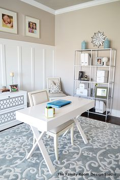 Sita Montgomery Interiors: My New Home Office Progress and an Ikea Hack