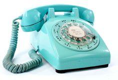yep you actually had to dial!
