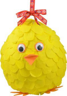 Make this Chicken Easter Pinata!